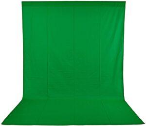 Fondo verde croma para youtubers barato