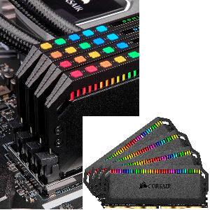 Memoria RAM del Rubius Corsair Dominator Platinum