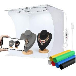 Cajas de fotografía, estudios photo box y light box portátiles para objetos