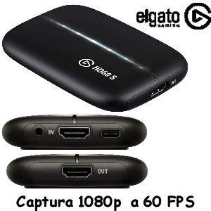 Capturadora Elgato HD60 S barata