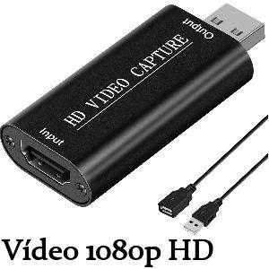 Capturadora de vídeo HDMI