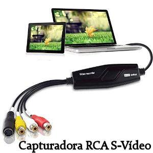 Capturadora de vídeo RCA o S-Video