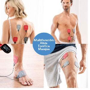 Electroestimuladores para contracciones musculares con electrodos