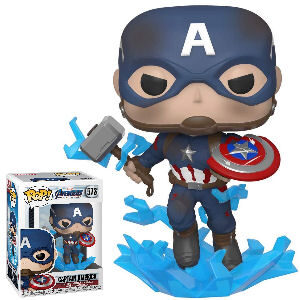 Funko Pop Capitán America Endgame Avengers Marvel