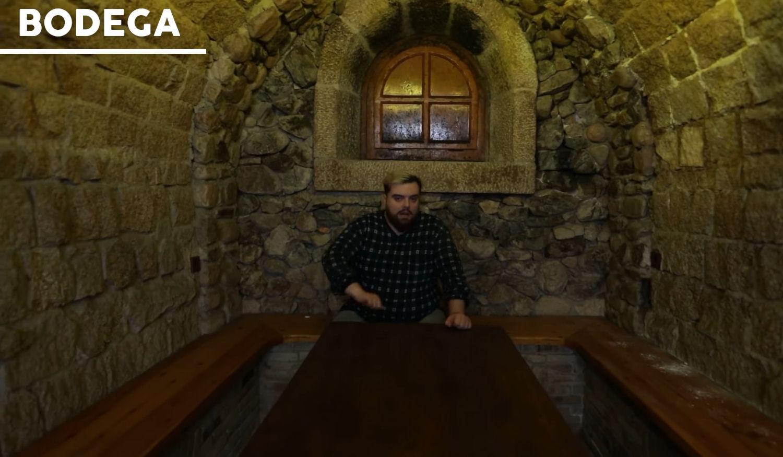 La bodega en el sótano de la nueva mansión de Ibai