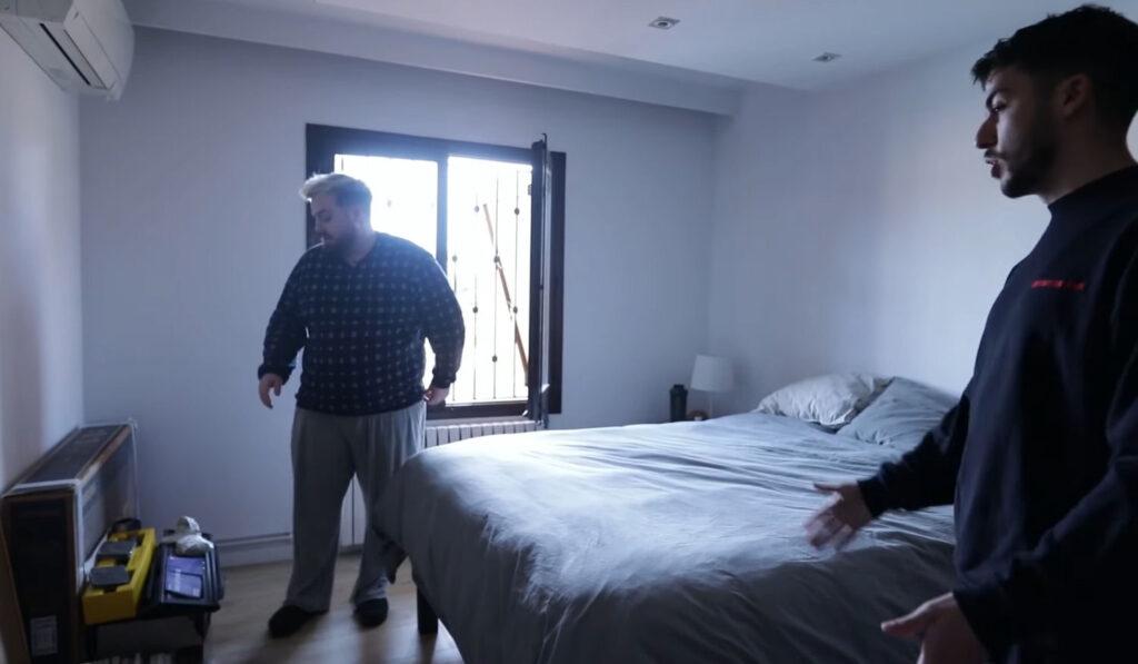 La habitación de Werlyb de la nueva mansión de Ibai