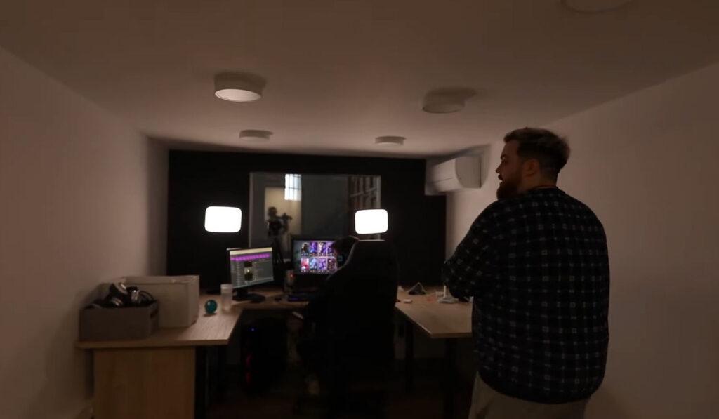 La habitación de Werlyb para hacer stream en la nueva mansión de Ibai