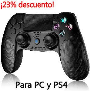 Mando inalámbrico para PC y PS4