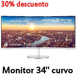 Monitor Samsung curvo en oferta