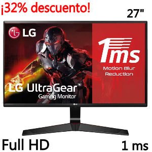 Monitor con 1 ms en oferta