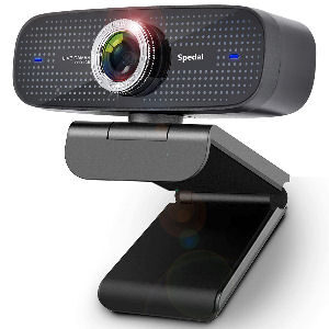 Webcam HD 1080p stream con micrófonos duales integrados compatible con OBS, Twitch, Xbox, Skype y Youtube