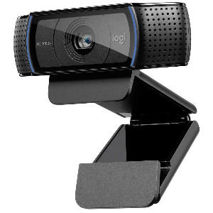 Webcam Logitech C920 HD Pro calidad 1080p Full HD